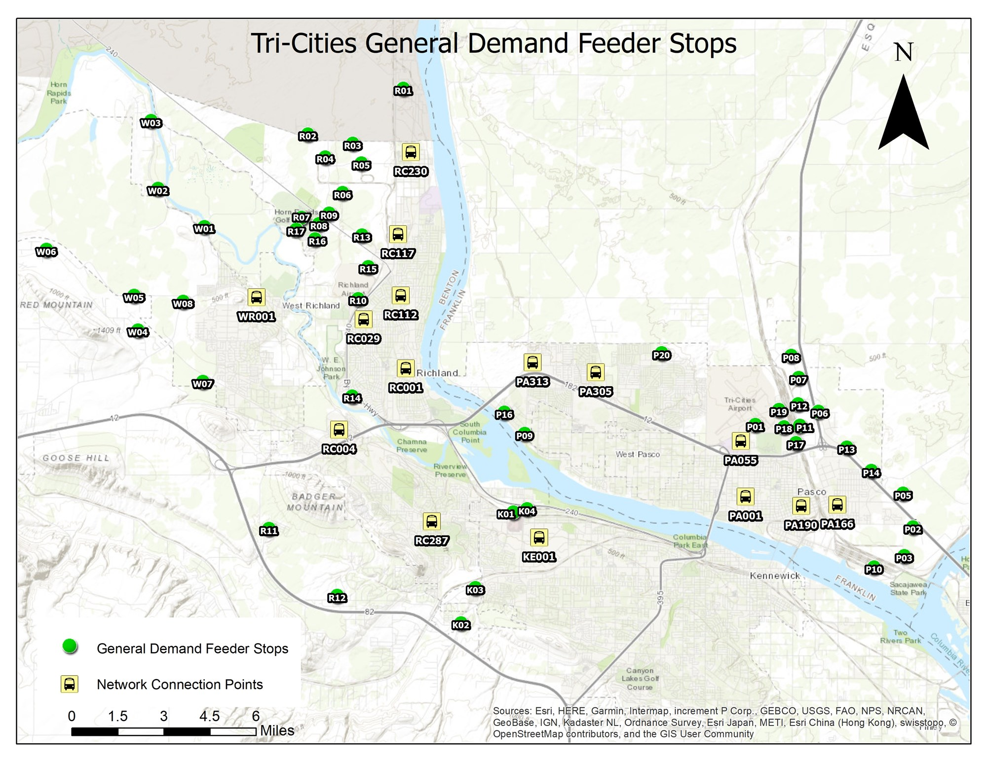 Tri-Cities_Service_Map