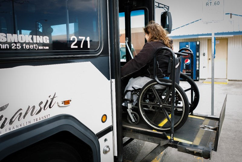 Wheelchair-lift